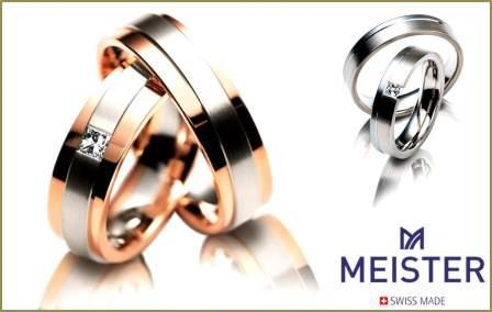 スイスの名門 結婚リング「 マイスター」