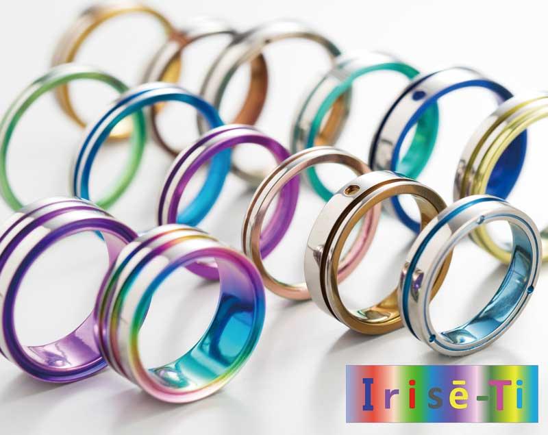 福岡で人気のチタン製結婚指輪