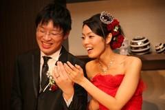 チタンの結婚指輪 福岡県 福岡市 東区のお客様