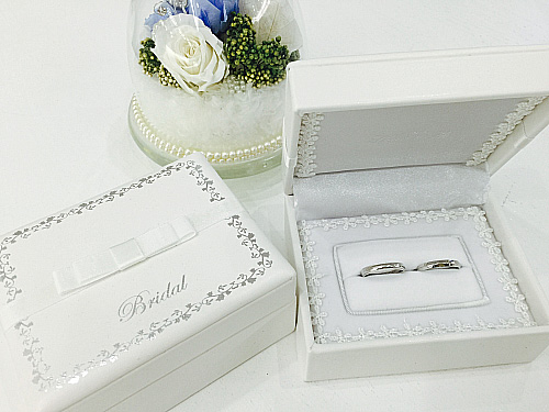 オリジナル指輪ケース