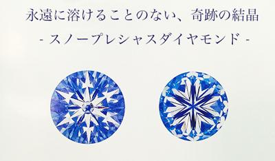 スノープレシャス 雪の結晶ダイヤモンド