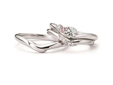 婚約指輪:ハネムーン RVE7-03 (PD) ¥162,000-