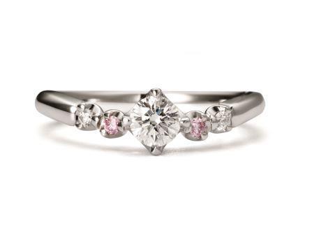 婚約指輪:プロポーズ RVE3-03 (WD) ¥216,000-