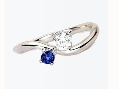 婚約指輪:アイヴェール 30477 WD pt 枠のみ 0.2ct up 1/100 ¥147,000