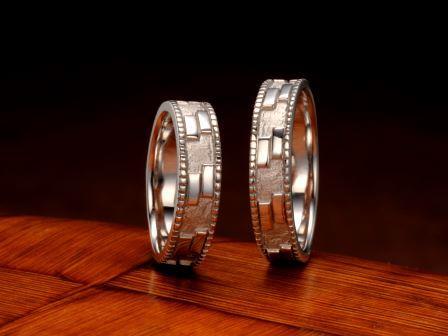 結婚指輪:琉球 夫婦(ミートゥンダ)Pt900 ¥129,600-