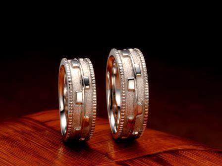 結婚指輪:琉球 御絵図(ミエズ)Pt900 ¥259,200-