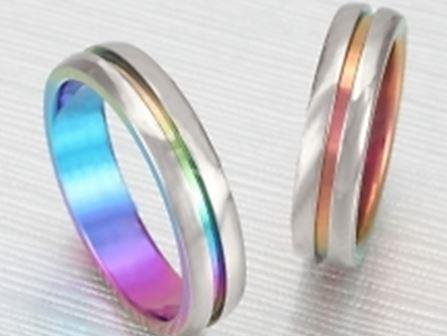 チタン 結婚指輪:ティタニオNo.10 (5mm) ¥63,250-