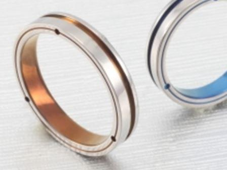 結婚リング:ティタニオNo.3 (4mm) ¥57,250-