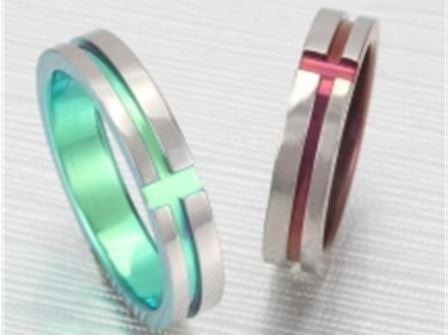 結婚リング:ティタニオNo.4 (4.5mm) ¥50,750-