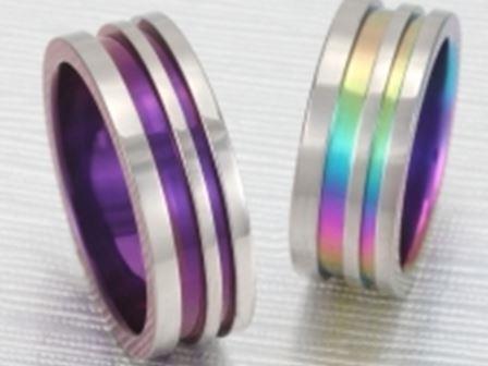 結婚リング:ティタニオNo.8 (7.5mm) ¥55,250-