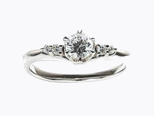 婚約指輪:アイヴェール hwe-008