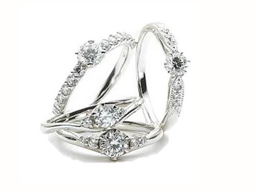 婚約指輪:アイヴェール hwe