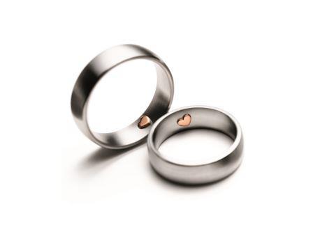 結婚指輪:マイスター シンボリックスライン 051 WG/RG750 ¥215,000-