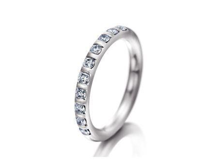 結婚指輪:マイスター シンボリックスライン 109 WG750 ¥460,000~