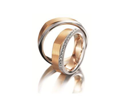 結婚指輪:マイスター ファンタスティックスライン 094 WG/RG750 上::¥380,000- 下:¥630,000-