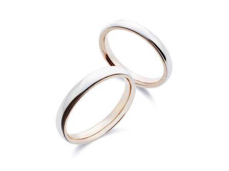 結婚指輪:上:MCKP300 下:MCKP350