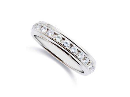 結婚指輪 エタニティー:DM-22 Pt900 ¥264,600-