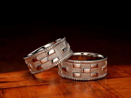 結婚指輪:琉球 マリッジリング いつの世も(9mm)