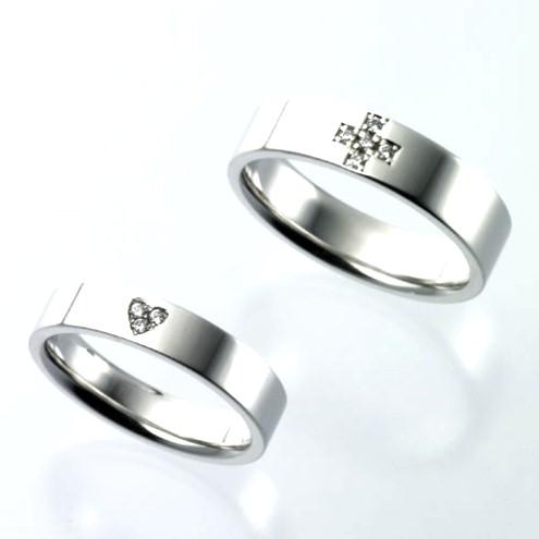 結婚指輪:CYO 213108 フラット5mmポリッシュ(鏡) 214107 フラット5mmポリッシュ(鏡)