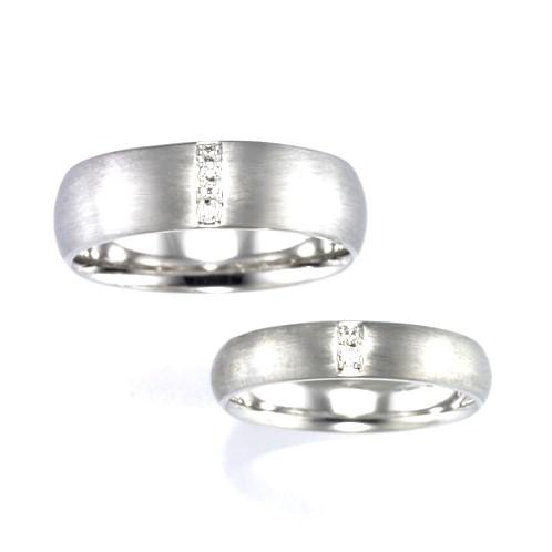 結婚指輪:CYO 316405 セミラウンド7mmサテン(つや消し) 313405 セミラウンド4mmサテン(つや消し)
