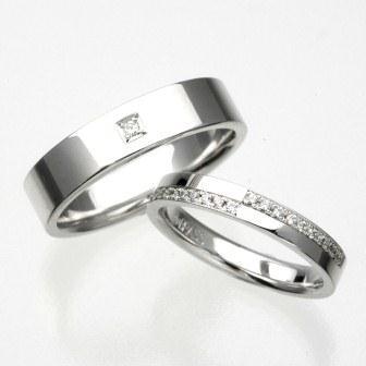 結婚指輪:CYO 213103 フラット5mm 213112 フラット3mm