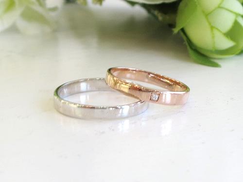 結婚リング:One thought ワン ソウト ひとつの想い