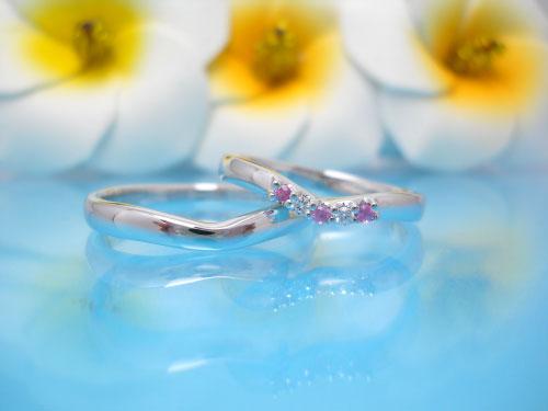 結婚指輪ちゅらばな ちゅらさん
