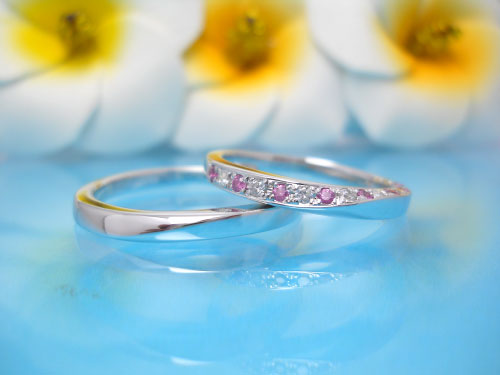結婚指輪ちゅらばな てぃんがーら