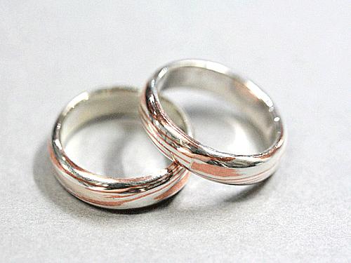 結婚指輪:美心3 木目がね フルオーダーメイド