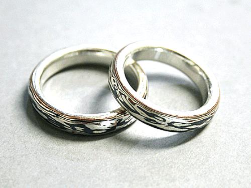 結婚リング:美心6 木目がね フルオーダーメイド