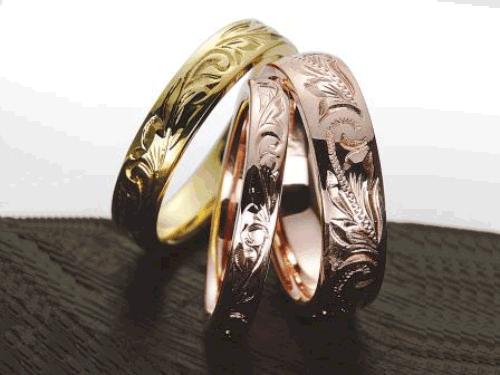 結婚指輪:マウロア HW-3-g