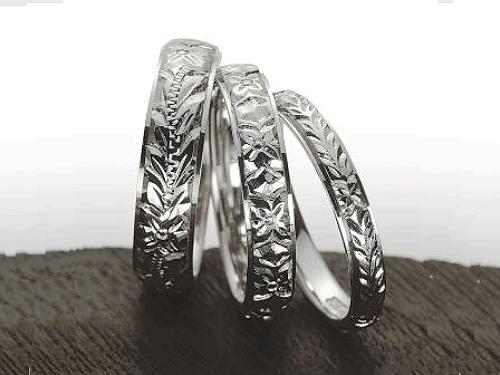 結婚指輪:マウロア HW-3-pt