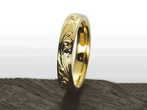 結婚指輪:マウロア HW-M-yg