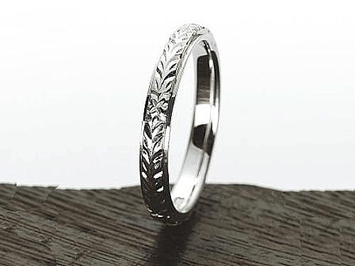 結婚指輪:マウロア HW-S-pt