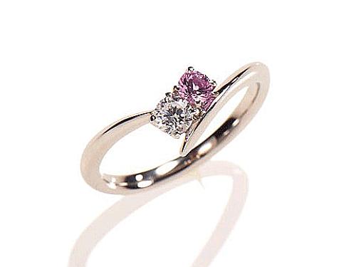 婚約指輪アモーレフェデーレ