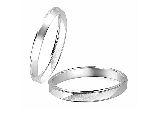 結婚指輪:エトワ B032 Pt900  A:41,040円  B:47,520円  C:54,000円