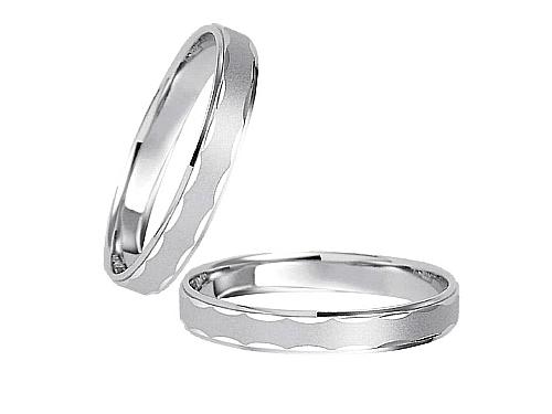 結婚指輪:エトワ C028 Pt950  A:50,760円  B:59,400円  C:66,960円