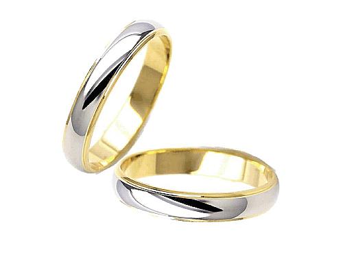 結婚指輪:エトワ PR02 Pt900・K18  A:41,040円  B:47,520円  C:54,000円