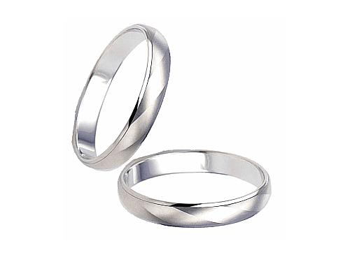 結婚指輪:エトワ PR04 Pt900  A:50,760円  B:59,400円  C:66,960円