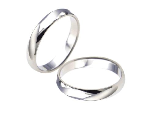 結婚指輪:エトワ PR06 Pt900  A:56,160円  B:64,800円  C:73,440円