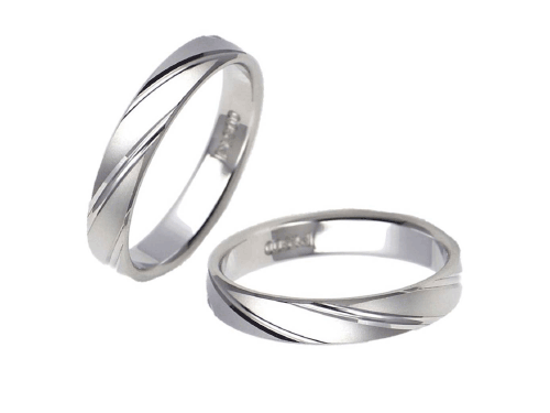 結婚指輪:エトワ PR09 Pt900  A:60,480円  B:70,200円  C:78,840円