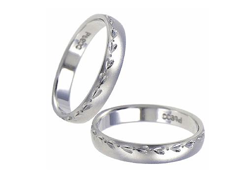 結婚指輪:エトワ PR11 Pt900  A:64,800円  B:74,520円  C:84,240円