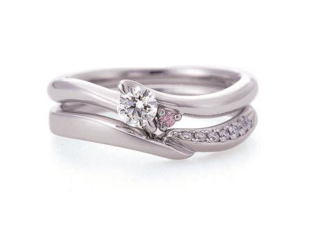 婚約指輪:ソナーレ 上:レジェーロ(ER) ¥261,360-