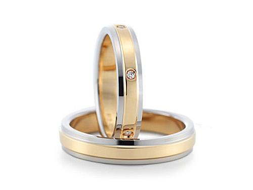 結婚指輪:グラヴィテ GY00402 GY00200