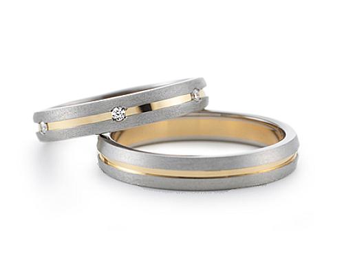 結婚指輪:グラヴィテ GY00502 GY00600