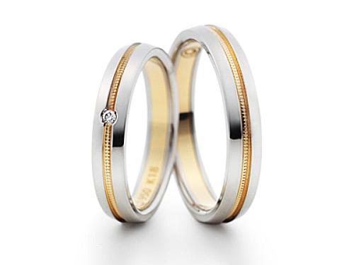 結婚指輪:グラヴィテ GY00702 GY00800