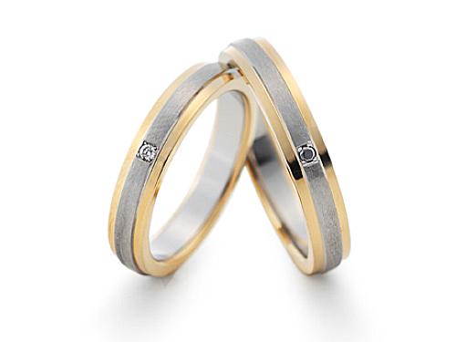 結婚指輪:グラヴィテ GY01402 GY01585