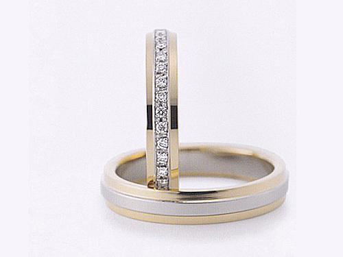 結婚指輪:グラヴィテ GY01602 GY01700