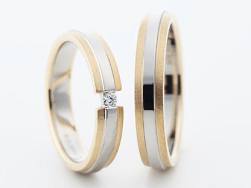 結婚指輪:グラヴィテ GY01802 GY01700