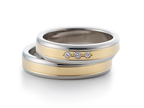 結婚指輪:グラヴィテ GY03102 GY03000